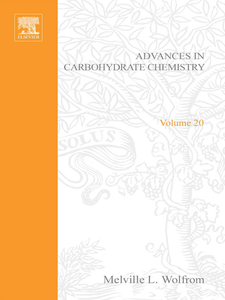 Ebook in inglese ADVANCES IN CARBOHYDRATE CHEMISTRY VOL20 -, -