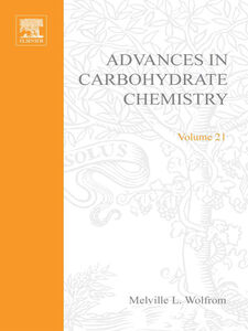 Ebook in inglese ADVANCES IN CARBOHYDRATE CHEMISTRY VOL21 -, -