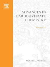 ADVANCES IN CARBOHYDRATE CHEMISTRY VOL21