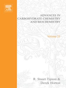 Ebook in inglese ADV IN CARBOHYDRATE CHEM & BIOCHEM VOL25 -, -