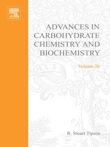 Ebook in inglese ADV IN CARBOHYDRATE CHEM & BIOCHEM VOL26 -, -