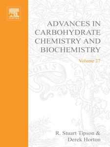 Ebook in inglese ADV IN CARBOHYDRATE CHEM & BIOCHEM VOL27 -, -