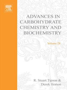 Ebook in inglese ADV IN CARBOHYDRATE CHEM & BIOCHEM VOL28