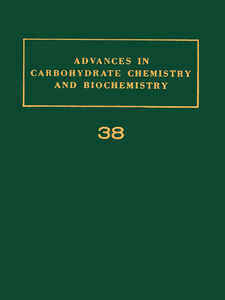 Foto Cover di ADV IN CARBOHYDRATE CHEM & BIOCHEM VOL38, Ebook inglese di  edito da Elsevier Science
