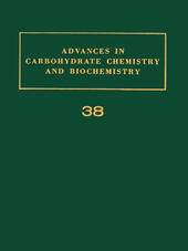 ADV IN CARBOHYDRATE CHEM & BIOCHEM VOL38