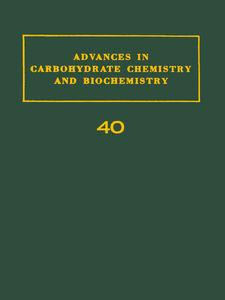 Foto Cover di ADV IN CARBOHYDRATE CHEM & BIOCHEM VOL40, Ebook inglese di  edito da Elsevier Science