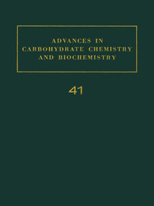 Ebook in inglese ADV IN CARBOHYDRATE CHEM & BIOCHEM VOL41 -, -