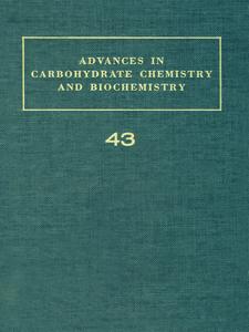 Ebook in inglese ADV IN CARBOHYDRATE CHEM & BIOCHEM VOL43 -, -