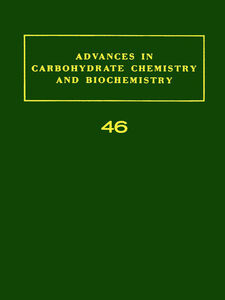 Foto Cover di ADV IN CARBOHYDRATE CHEM & BIOCHEM VOL46, Ebook inglese di  edito da Elsevier Science
