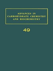 Ebook in inglese ADV IN CARBOHYDRATE CHEM & BIOCHEM VOL49 -, -