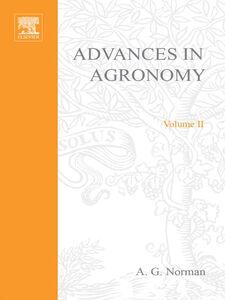 Foto Cover di ADVANCES IN AGRONOMY VOLUME 2, Ebook inglese di  edito da Elsevier Science