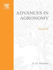 ADVANCES IN AGRONOMY VOLUME 3