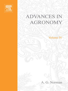 Ebook in inglese ADVANCES IN AGRONOMY VOLUME 4 -, -