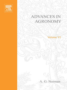 Foto Cover di ADVANCES IN AGRONOMY VOLUME 6, Ebook inglese di  edito da Elsevier Science