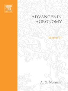 Ebook in inglese ADVANCES IN AGRONOMY VOLUME 6