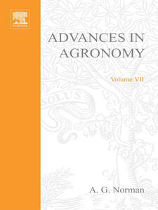 Ebook in inglese ADVANCES IN AGRONOMY VOLUME 7 -, -