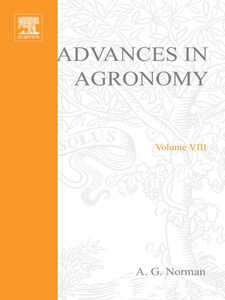 Ebook in inglese ADVANCES IN AGRONOMY VOLUME 8 -, -