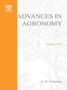 Ebook in inglese ADVANCES IN AGRONOMY VOLUME 8 -, -