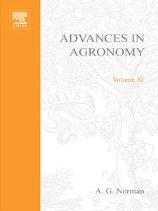 Ebook in inglese ADVANCES IN AGRONOMY VOLUME 11 -, -