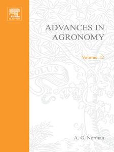 Ebook in inglese ADVANCES IN AGRONOMY VOLUME 12