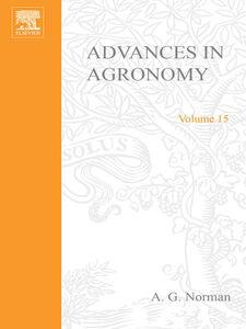 Foto Cover di ADVANCES IN AGRONOMY VOLUME 15, Ebook inglese di  edito da Elsevier Science