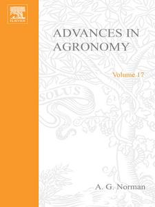 Ebook in inglese ADVANCES IN AGRONOMY VOLUME 17 -, -