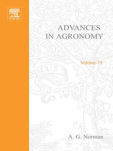 Ebook in inglese ADVANCES IN AGRONOMY VOLUME 19