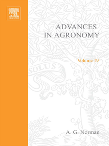 Ebook in inglese ADVANCES IN AGRONOMY VOLUME 19 -, -