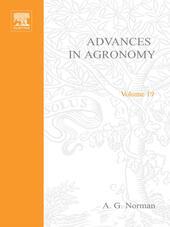 ADVANCES IN AGRONOMY VOLUME 19