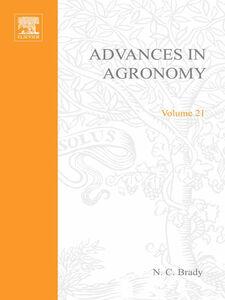 Foto Cover di ADVANCES IN AGRONOMY VOLUME 21, Ebook inglese di  edito da Elsevier Science