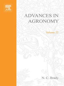 Ebook in inglese ADVANCES IN AGRONOMY VOLUME 22 -, -