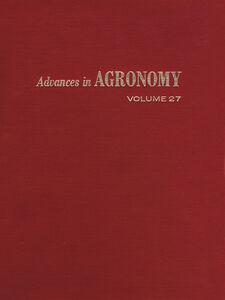 Ebook in inglese ADVANCES IN AGRONOMY VOLUME 27 -, -