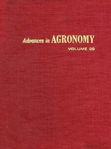 Ebook in inglese ADVANCES IN AGRONOMY VOLUME 29
