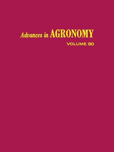 Ebook in inglese ADVANCES IN AGRONOMY VOLUME 30 -, -