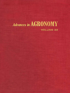Ebook in inglese ADVANCES IN AGRONOMY VOLUME 33 -, -
