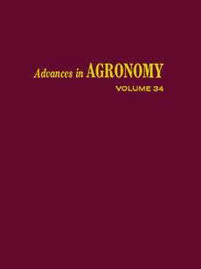 Foto Cover di ADVANCES IN AGRONOMY VOLUME 34, Ebook inglese di  edito da Elsevier Science