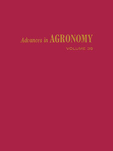 Ebook in inglese ADVANCES IN AGRONOMY VOLUME 35 -, -