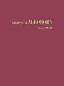 Ebook in inglese ADVANCES IN AGRONOMY VOLUME 36 -, -