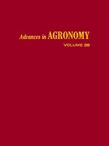 Ebook in inglese ADVANCES IN AGRONOMY VOLUME 38