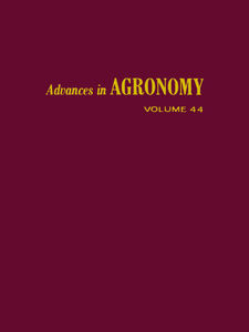 Ebook in inglese ADVANCES IN AGRONOMY VOLUME 44
