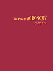 Ebook in inglese ADVANCES IN AGRONOMY VOLUME 45