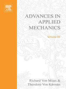 Ebook in inglese ADVANCES IN APPLIED MECHANICS VOLUME 3