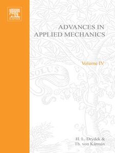 Foto Cover di ADVANCES IN APPLIED MECHANICS VOLUME 4, Ebook inglese di  edito da Elsevier Science
