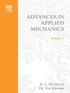 Ebook in inglese ADVANCES IN APPLIED MECHANICS VOLUME 5