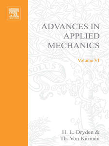 Foto Cover di ADVANCES IN APPLIED MECHANICS VOLUME 6, Ebook inglese di  edito da Elsevier Science