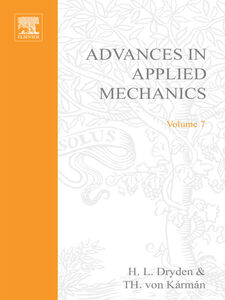 Foto Cover di ADVANCES IN APPLIED MECHANICS VOLUME 7, Ebook inglese di  edito da Elsevier Science