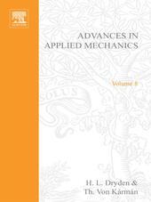 ADVANCES IN APPLIED MECHANICS VOLUME 8