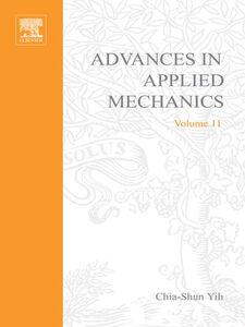 Ebook in inglese ADVANCES IN APPLIED MECHANICS VOLUME 11 -, -