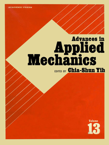 Ebook in inglese ADVANCES IN APPLIED MECHANICS VOLUME 13 -, -