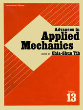 ADVANCES IN APPLIED MECHANICS VOLUME 13